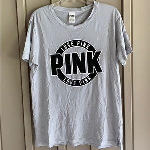 PINK Victoria's Secret Boyfriend Shirt